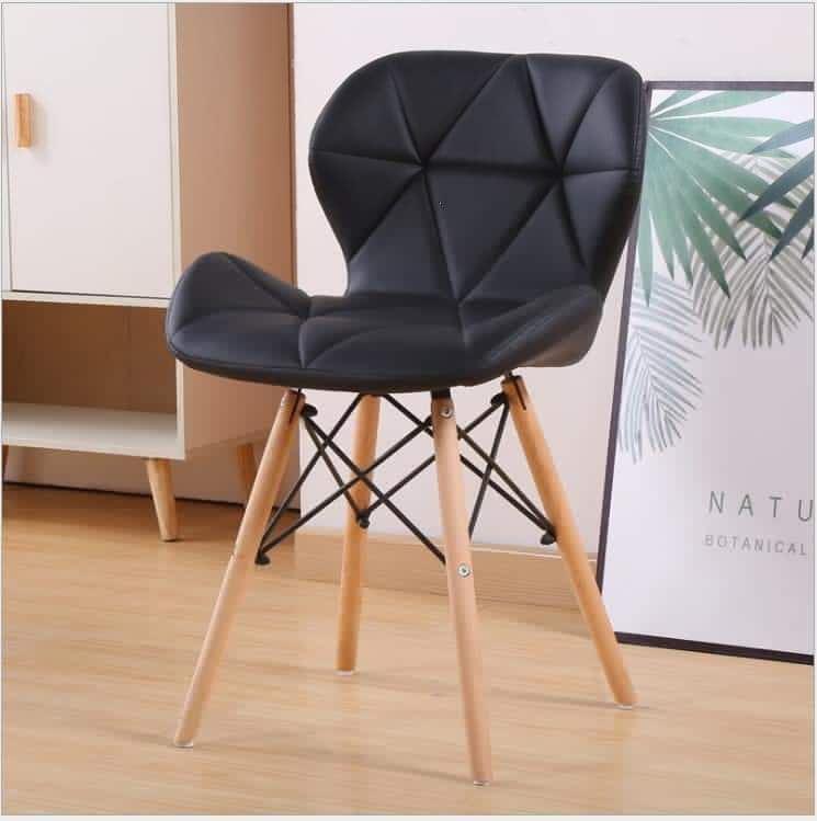Ghế tựa chân gỗ bọc nệm siêu êm