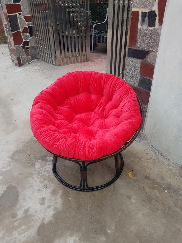 Ghế papasan + đệm, hàng mới