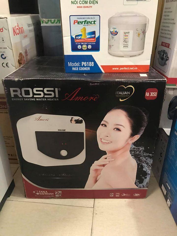 Bình nóng lạnh Rossi Amore RA-30SQ 30 lít mới