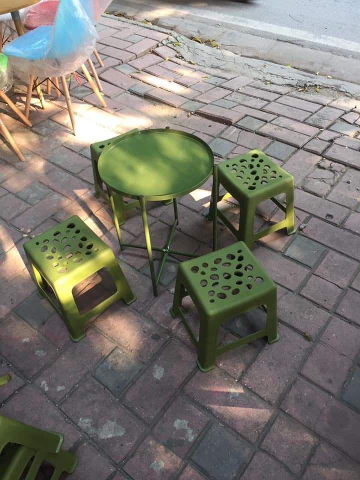 Bộ bàn ghế trà chanh