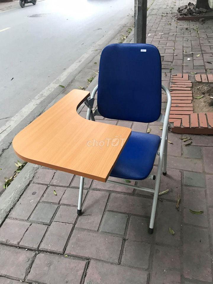 Ghế gấp liền bàn học sinh, mới
