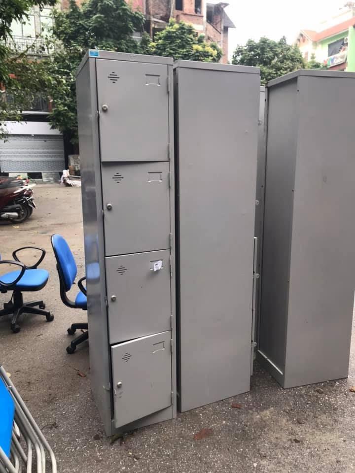 Tủ locker 1 cột 4 ngăn Hòa Phát