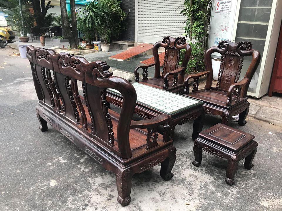 Bộ bàn ghế phòng khách 6 món
