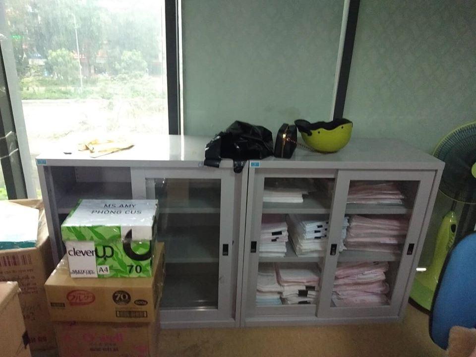 Tủ hồ sơ cánh lùa Hòa Phát